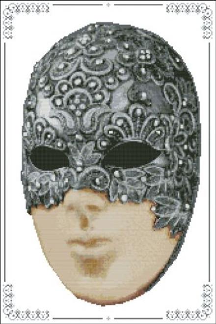 Carnival Masks - 006 Swirl Right