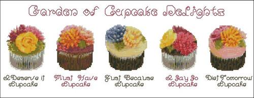 Garden of Cupcake Delights