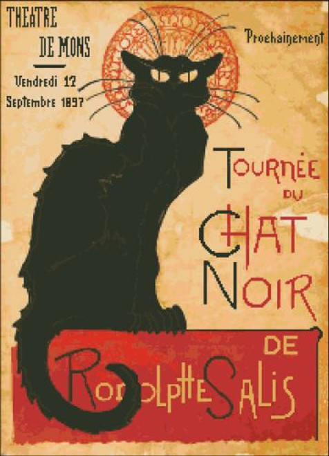 Chat Noir French Poster