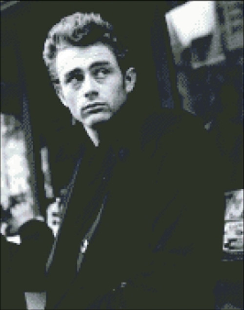 James Dean Black and White