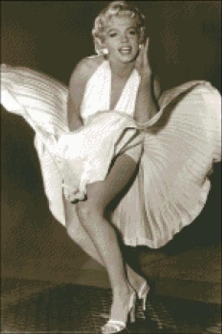 Marilyn Monroe Sepia