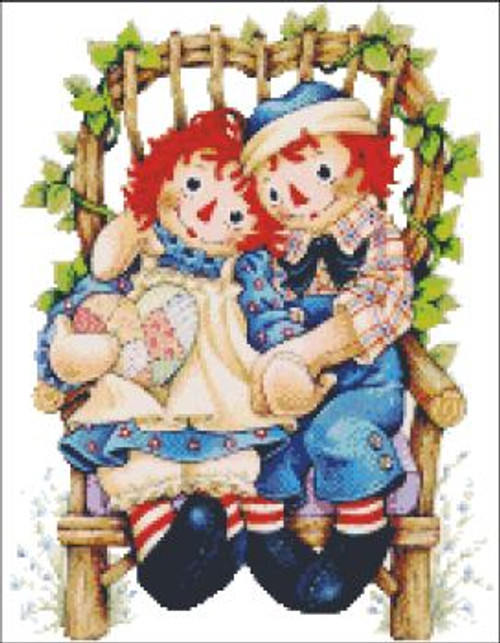 My Sweetheart Raggedy Ann and Andy