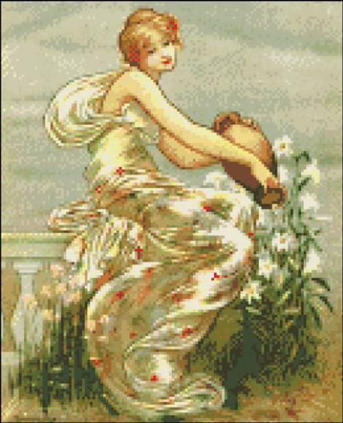 Ladies of Spring - April
