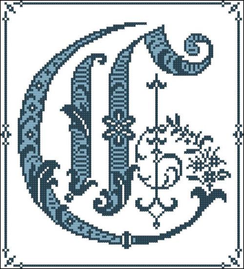 Gothic Alphabet C