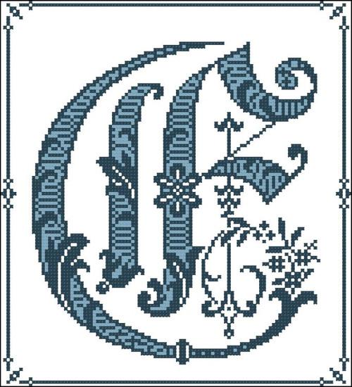 Gothic Alphabet E