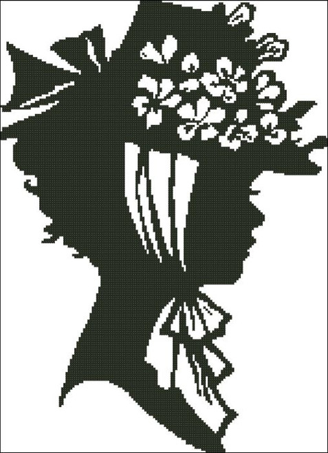 Ladies Hat Silhouette 002