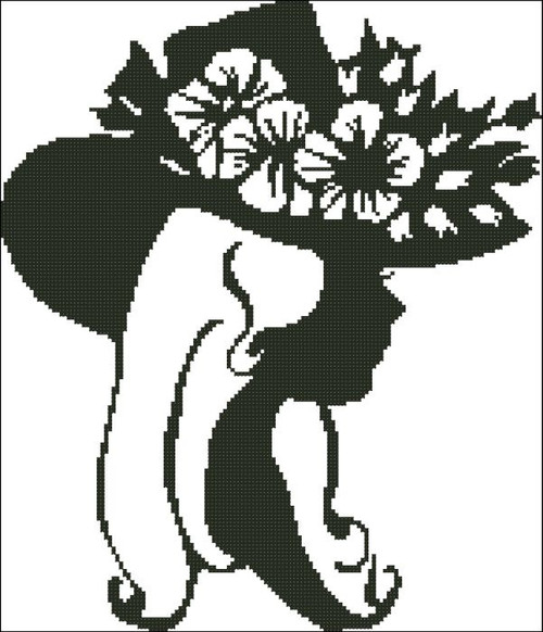 Ladies Hat Silhouette 005