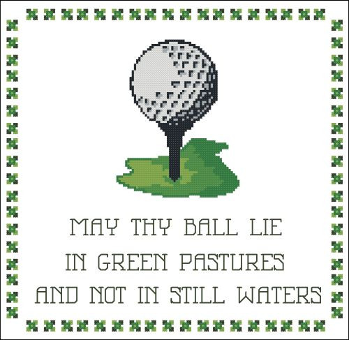 Golf : May Thy Ball Lie in Green Pastures