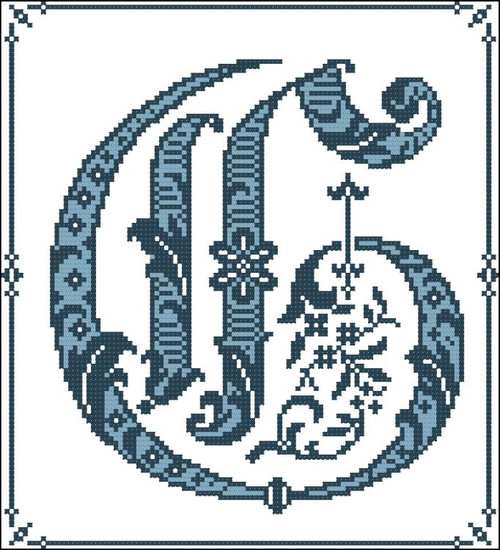 Gothic Alphabet G