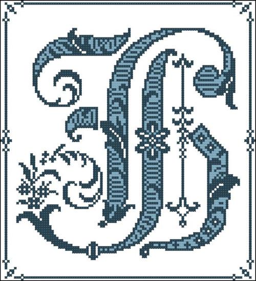 Gothic Alphabet H
