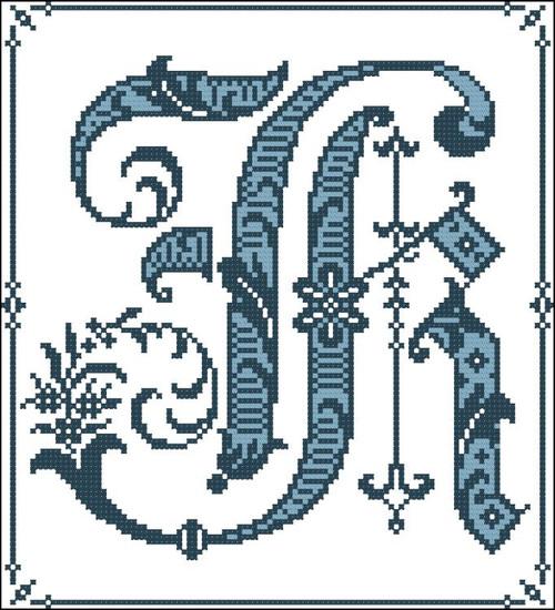 Gothic Alphabet K