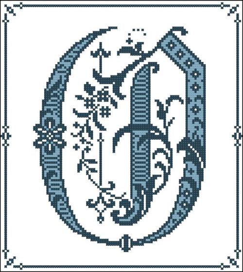 Gothic Alphabet O