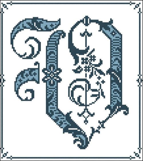 Gothic Alphabet V