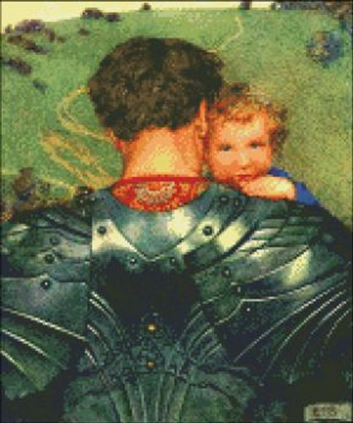 Knight with Child