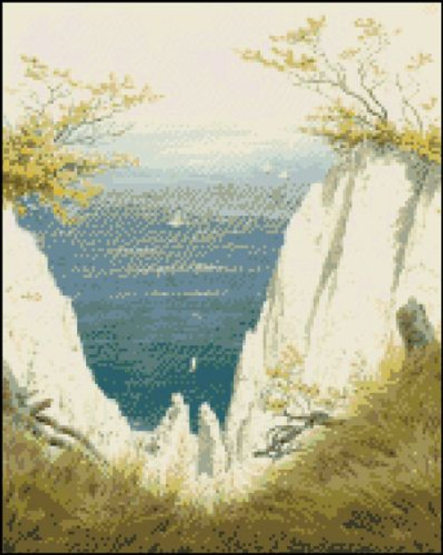 Chalk Cliffs on Reugen