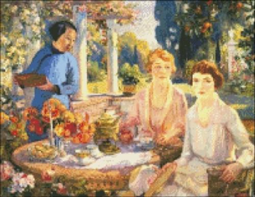 Teatime in Santa Barbara