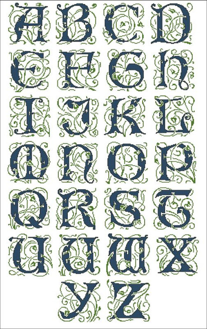 Elaborate Alphabet