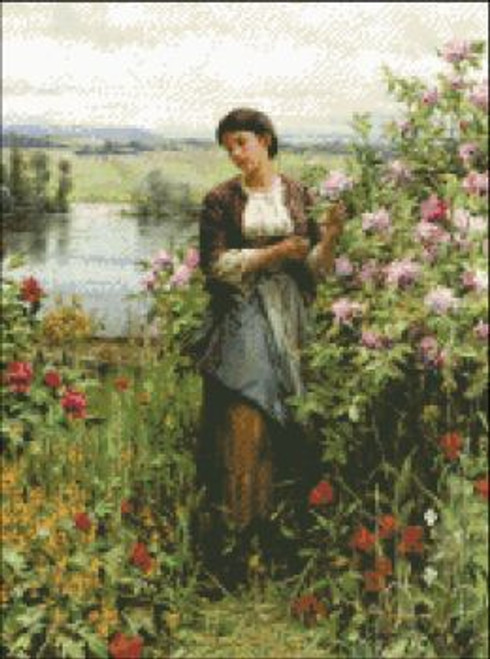 Julia Among the Roses
