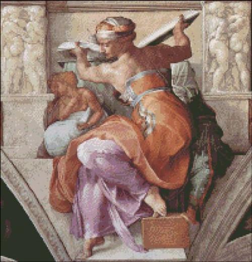 Libyan Sibyl (Sistine Chapel