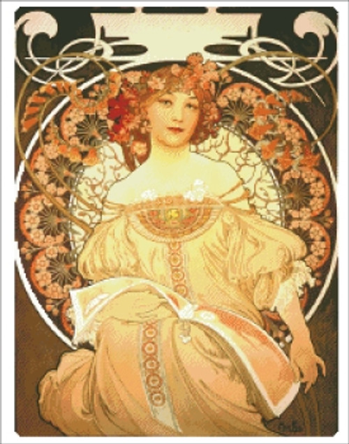 Reverie by Mucha