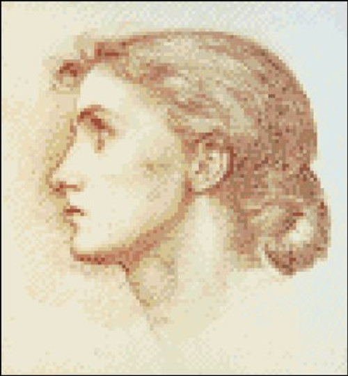 Head Study of a Young Woman