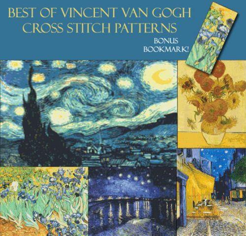 Van Gogh Cross Stitch Pattern Collection