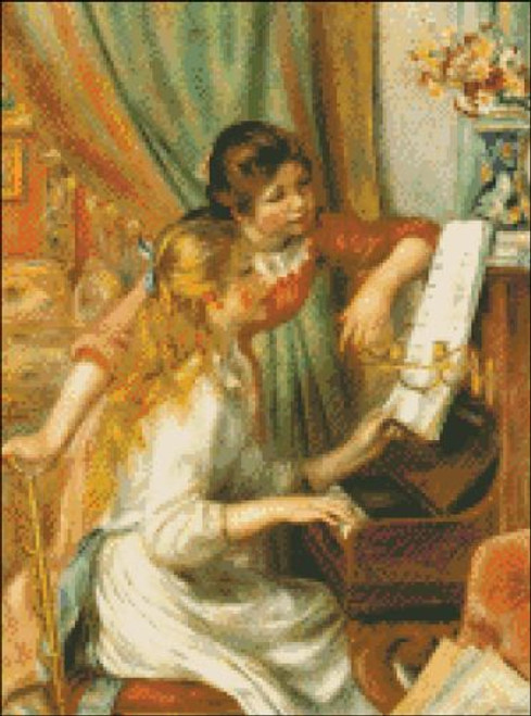 Girls at the Piano