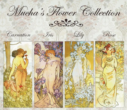 Mucha's Flower Cross Stitch Collection