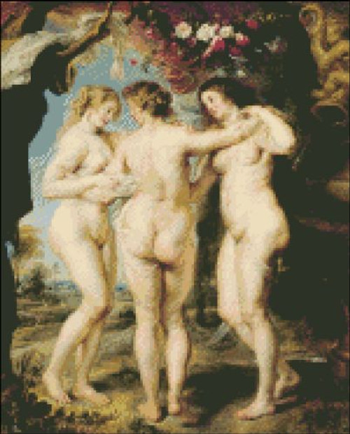 Three Graces by Rubens
