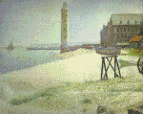 Lighthouse at Honfleur
