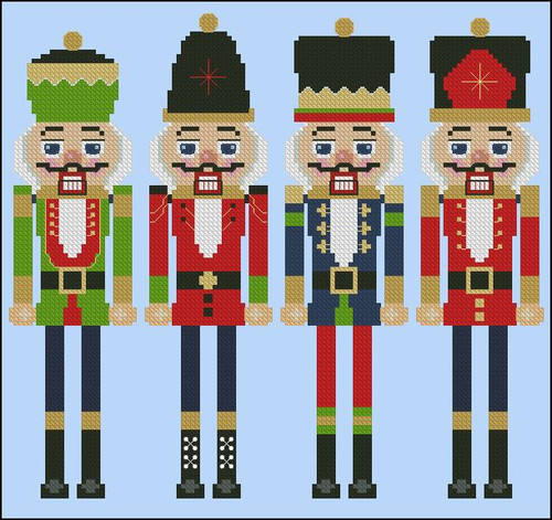 Holiday Nutcracker Bookmarks I