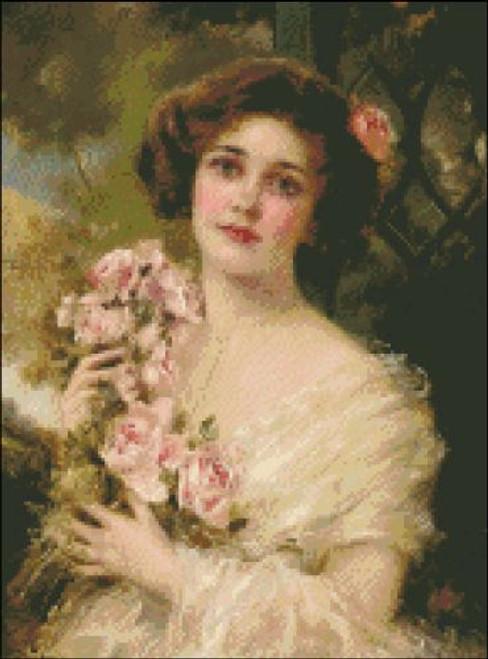 Blushing English Rose