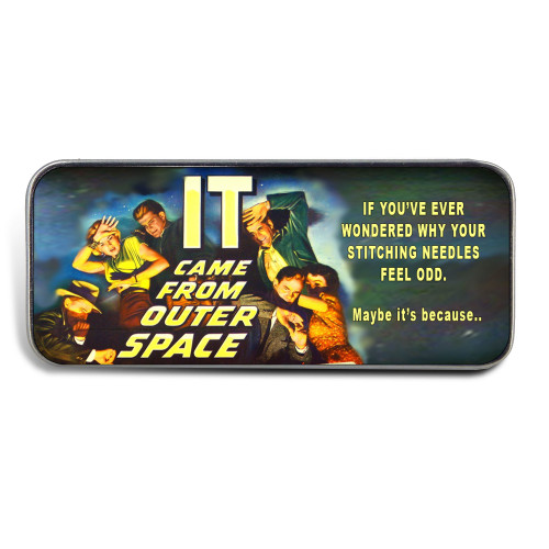Magnetic Sewing Needle Case B Movie It Came From Outer Space Funny Needle Case