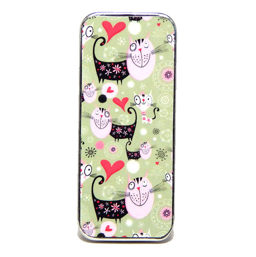 Magnetic Sewing Needle Case Animals Cute Cats Case Love Cat