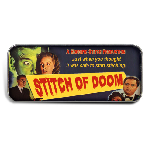 Magnetic Sewing Needle Case B Movie Case Stitch of Doom Funny