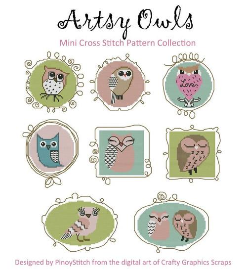 Artsy Owls