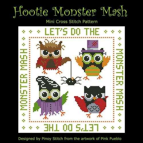 Hooties Monster Mash Halloween