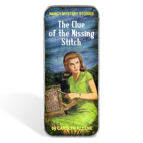 Magnetic Sewing Needle Case Nancy Clue of the Missing Stitch