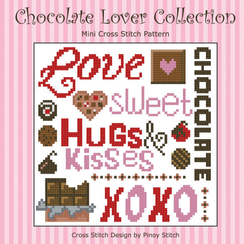 Chocolate Lovers Cross Stitch Collection