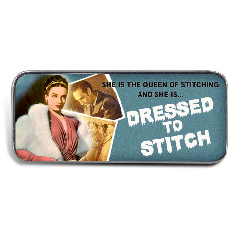 Magnetic Sewing Needle Case B Movie Dressed to Stitch Film Noir Retro