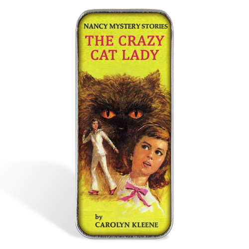 Magnetic Sewing Needle Case Nancy The Crazy Cat Lady Funny Gift for Stitchers