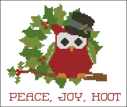 Christmas Hootie 004 Peace Joy