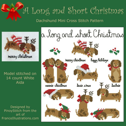 Dachshund A Long and Short Christmas