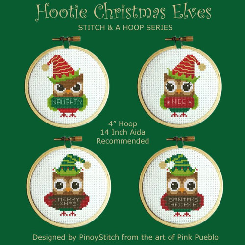 Hooties Christmas Elves