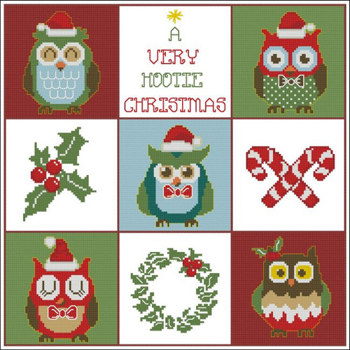 Hooties Christmas Owls Sampler
