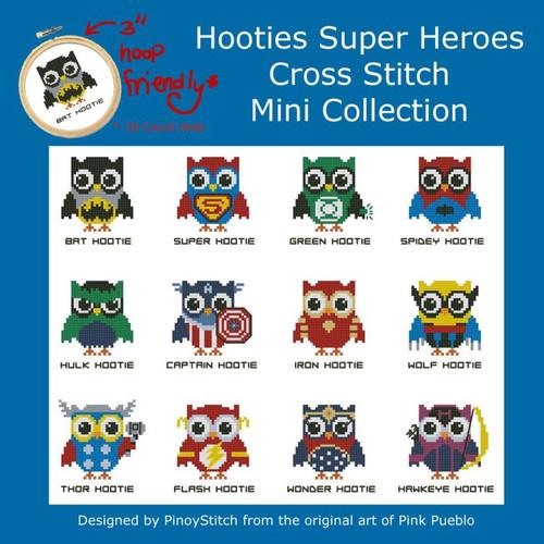 Hooties Super Heroes
