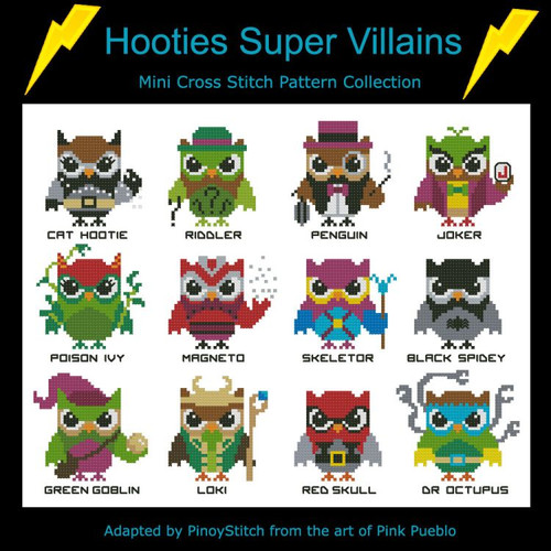 Hooties Super Villains