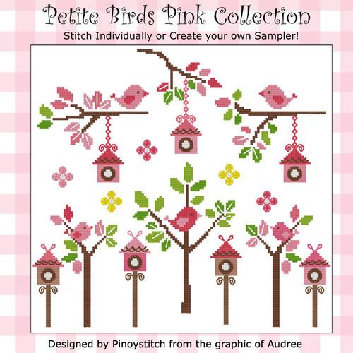 Petite Birds Pink