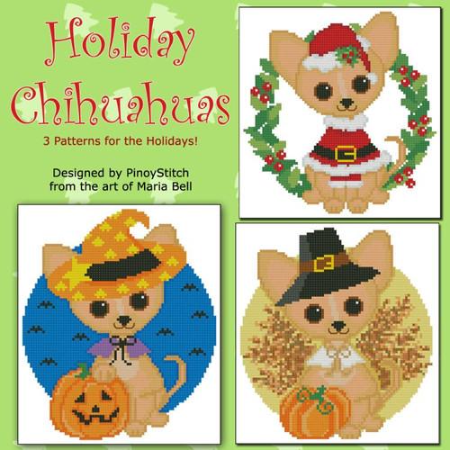 Holiday Chihuahuas