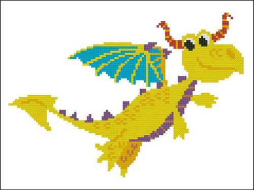 Happy Dragon Yellow
